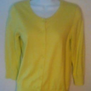Cardigan by Loft, size small, 100% cotton
